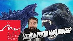 A GODZILLA FIGHTING GAME?? MADE BY ARCSYSTEM??!! | Godzilla Vs. Kong Fighting Game Rumors