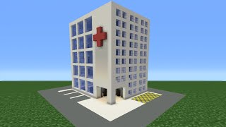 Minecraft Tutorial: How To Make A Hospital