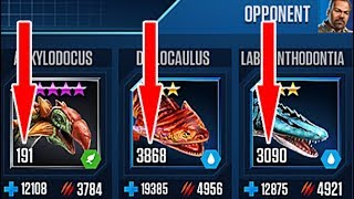 LUDIA BOOSTED DINO - WHAT THE F..... || Jurassic World The Game