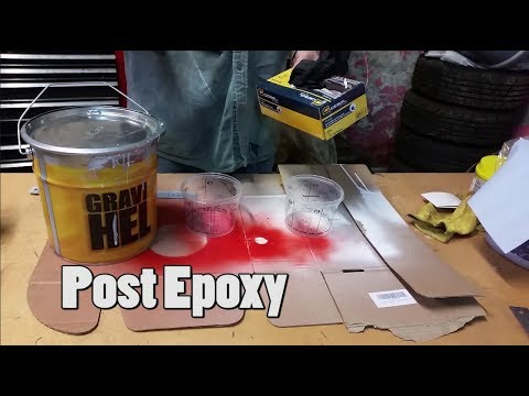 The Austin Healey Project - Post Epoxy
