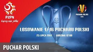 Puchar Polski: Losowanie 1/16 Finału
