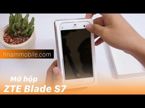 H-Channel | ZTE Blade S7: giá tầm trung, 2 camera 13MP, cảm biến vân tay.
