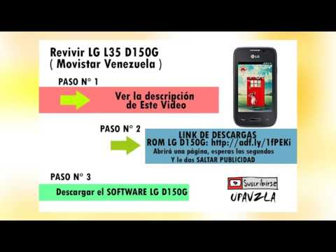 Revivir LG L35 D150G ( Movistar Venezuela )