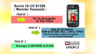 Revivir Lg L35 D150g Movistar Venezuela