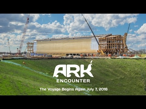 What Will You Experience When You Visit the Ark?  Ark Encounter  March 23, 2016