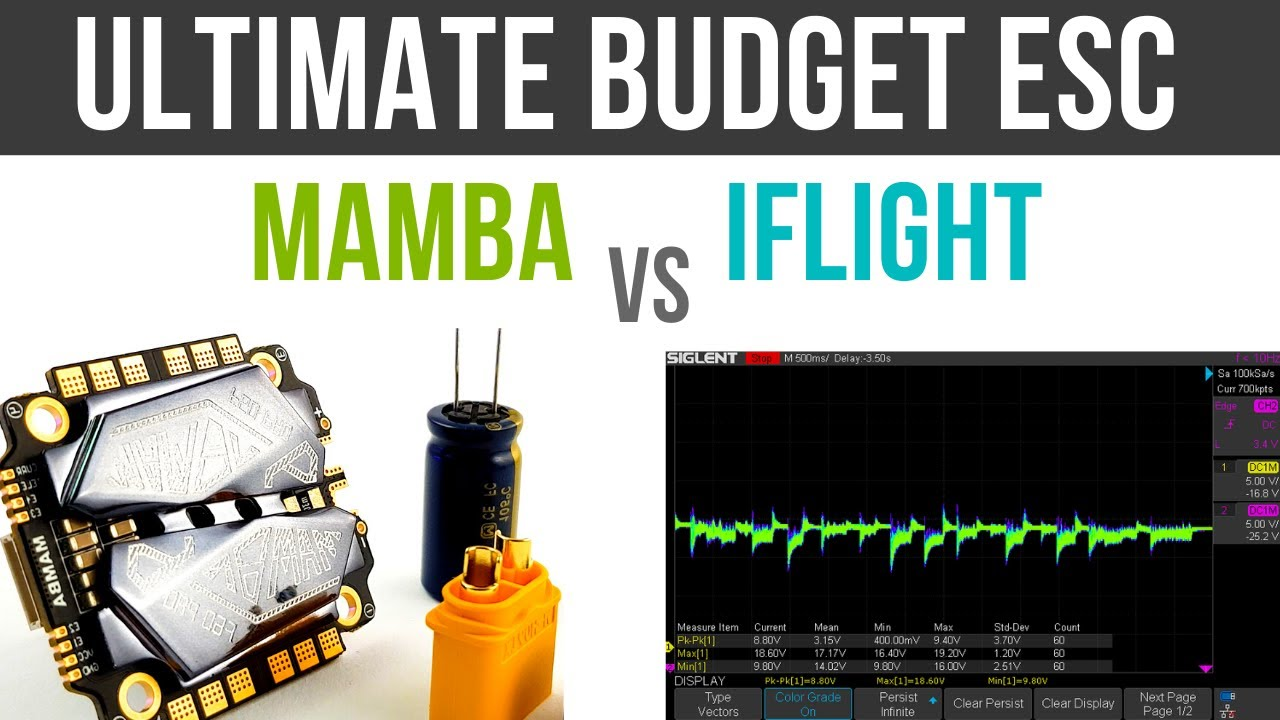 THE BEST BUDGET ESC OF 2020 // iFlight E vs Mamba F50 Noise Test