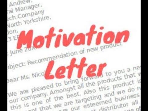 Motivation Letter For Job from i.ytimg.com
