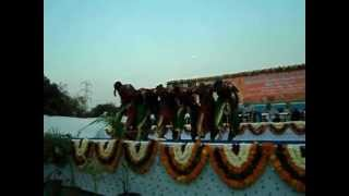 SurTaal Performing Art    Darshit Performe Folk dance Dangi at Narendra modi Ji dv dance crew.AVI