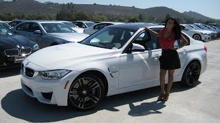 NEW 2016 BMW M3 LCI vs. 2015 M3 / Exhaust Sound / Quick BMW Review