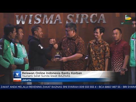 BAZNAS News - Relawan Online Indonesia Bantu Korban Tsunami Selat Sunda Lewat BAZNAS Mp3