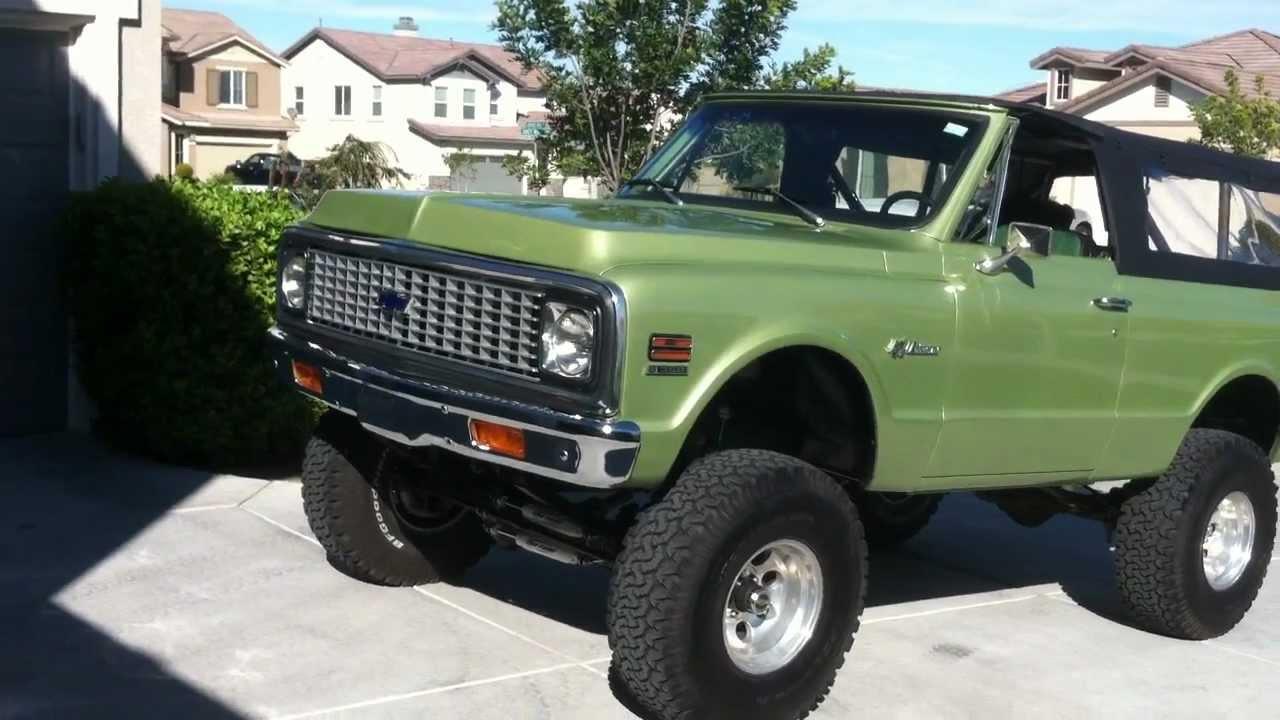 1972 Chevrolet K5 Blazer 4x4