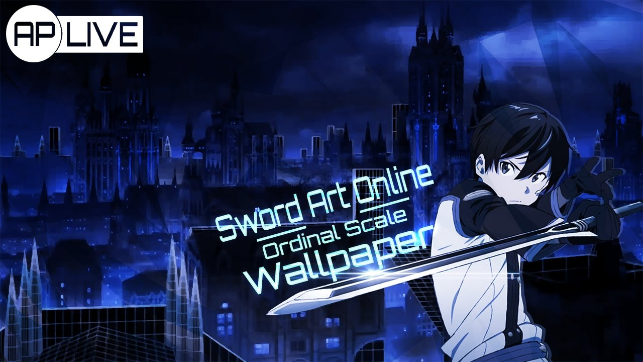 Speed Art Sao Ordinal Scale Wallpaper Youtube