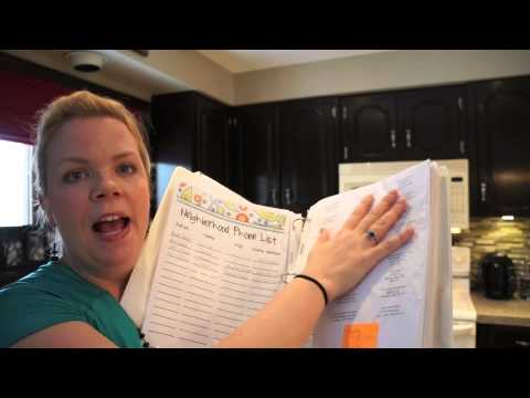 Create a Household Management Binder