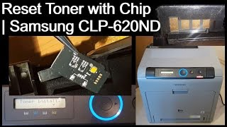 Reset Toner mit Chip - Samsung…