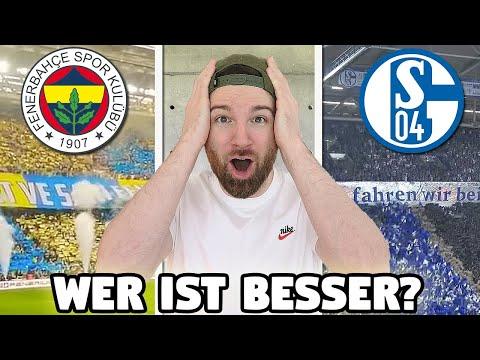 Fenerbahce Istanbul Vs. Schalke 04 - Fussball Fan BATTLE