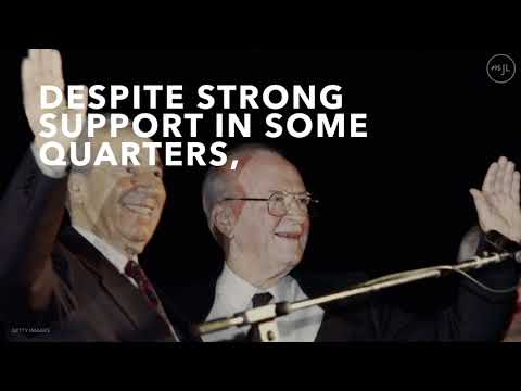 The Life Of Yitzhak Rabin, Former Prime Minister Of Israel