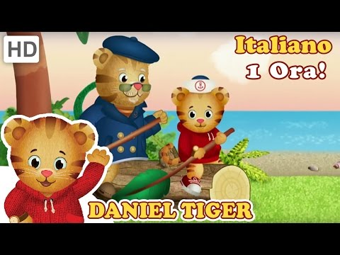 Daniel Tiger in Italiano - Seconda Episodio Compilazione (1 Ora!)