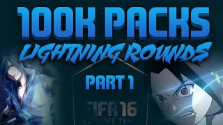 100K PACKS!!! | BLACK FRIDAY LIGHTNING ROUNDS PART 1!!!