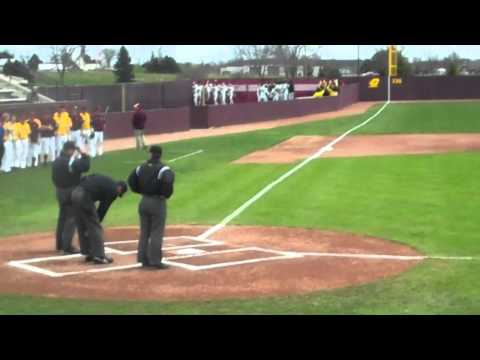 Jim Messick CMU 1st Pitch