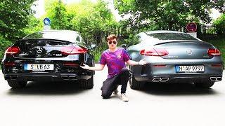 C63S VS. C63 AMG | Ich drücke mein neues Auto durch | ViscaBarca