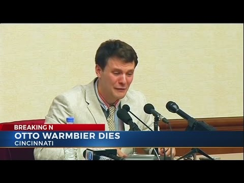 Otto Warmbier dies days after release from North Korea, family says