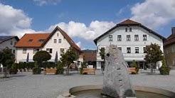 D: Bodenmais. Niederbayern. Eindrücke aus der Ortsmitte. September 2018