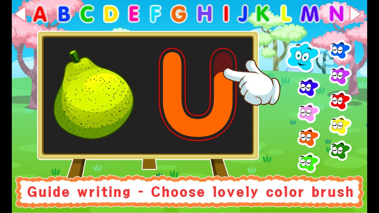 ABC Learning - Handwriting Games for Kids - Kids Learn Upper Case ...