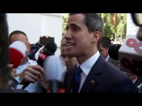 Wel of geen interview met de interim-president van Venezuela?
