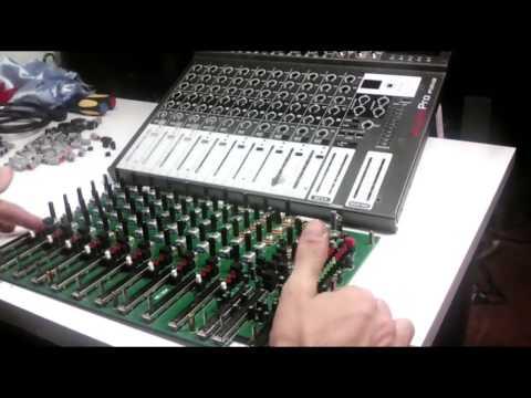 """Reparación de Mezcladora de Audio """"Mixer"""""""