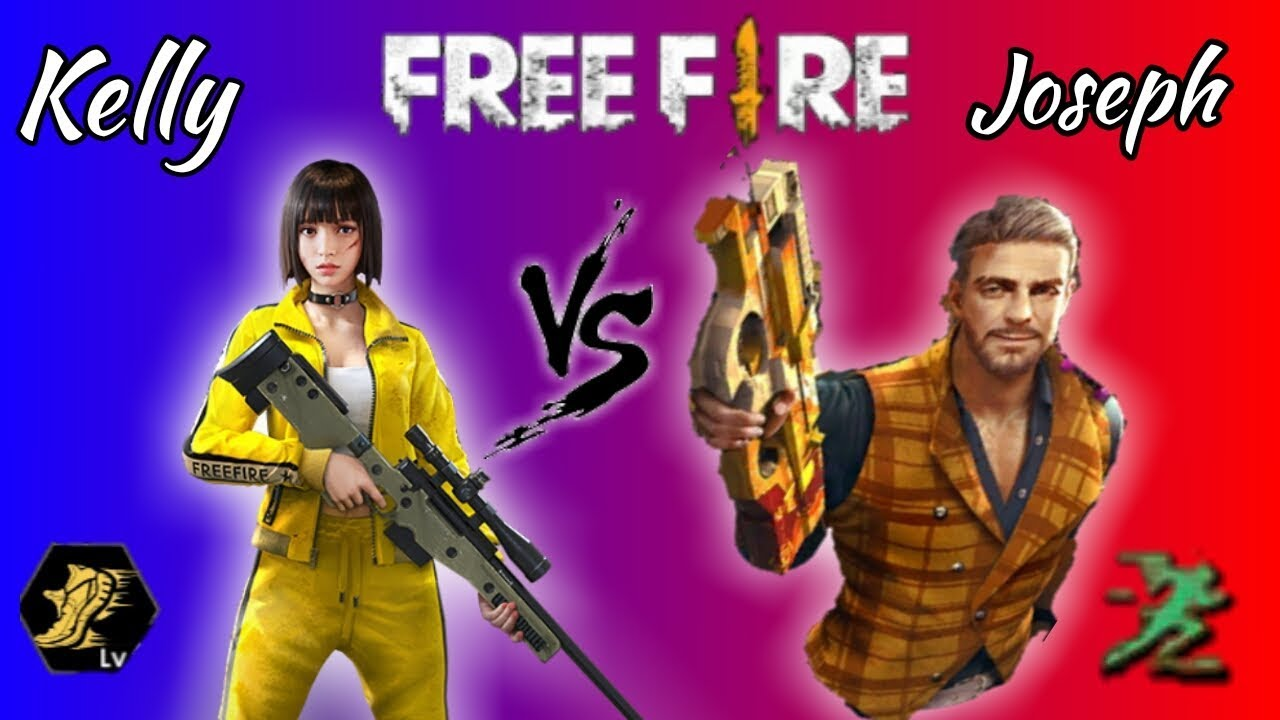 Kelly Vs Joseph Free Fire Which Is The Best Character Power And Look