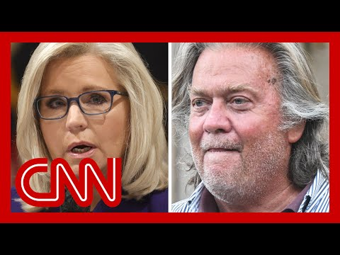 Liz Cheney accuses Bannon of planning Capitol insurrection