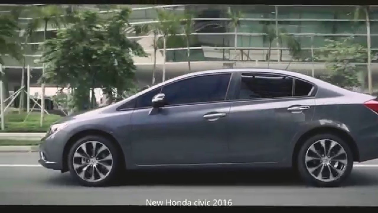 New Honda Civic 2016 Commercial