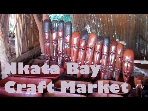 Nkhata Bay Crafts Market - Malawi, Africa