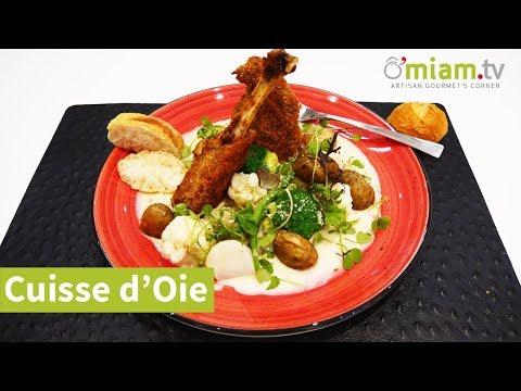 recette-d'oie---cuisse-d'oie-à-l'instar-de-visé