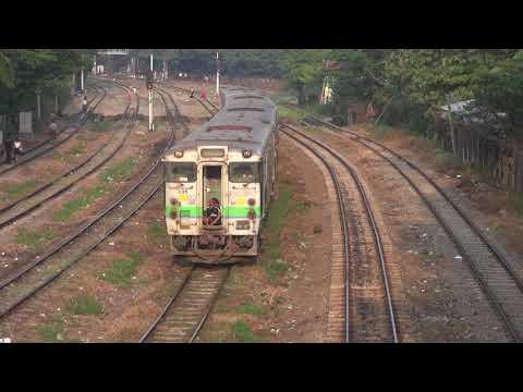 Trains of Myanmar railways(MR)(Jan., 2018)  1 ミャンマー国鉄の列車(2018年1月) 1