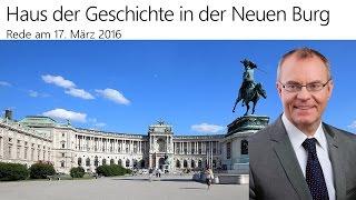 Haus der Geschichte - NR Dr. Harald Troch (17. März 2016)