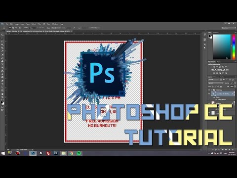 How to create a Poster/Banner/Flyer in Photoshop CS6/CC | 20