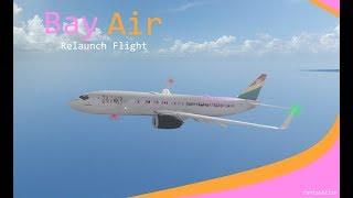 ROBLOX Vuelo Bay Air Relaunch 737.