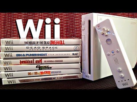 Wii On-Rail Light Gun Shooter Games