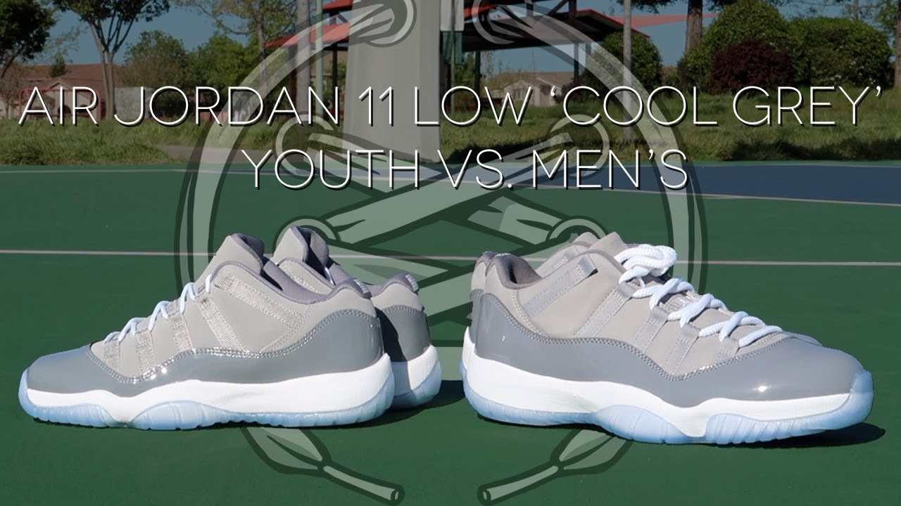 d90df9d3443a22 Air Jordan 11 Low  Cool Grey  Review