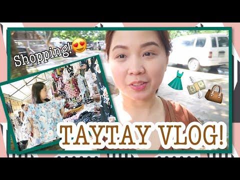 TAYTAY VLOG ❤️ Tiangge Shopping! Sobrang mura 😱 | Raych Ramos ✨