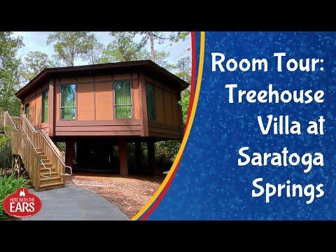 Saratoga Springs Resort - Treehouse Villa - Room Tour