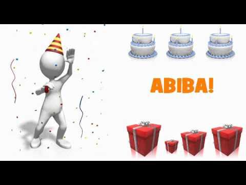 HAPPY BIRTHDAY ABIBA!