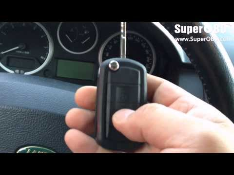 How to program new key for Land Rover Discovery III 2009 with SKP100/ SKP-900