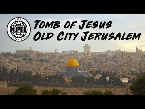 LOST TOMB OF JESUS | JERUSALEM Old City | ISRAEL Travel Vlog