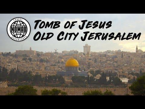 Real TOMB OF JESUS | Old City JERUSALEM | ISRAEL Travel Vlog