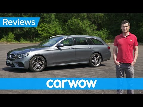 Mercedes E-Class Estate 2018 in-depth review | Mat Watson Reviews