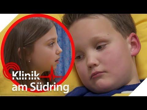Anne und Max (9) sind beste Freunde: Was hat Max´ Papa gegen sie? | Klinik am Südring | SAT.1 TV