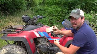 ATV Repairs Fuel Filter   Ignition Coil   Carburetor Adjustment - YouTubeYouTube