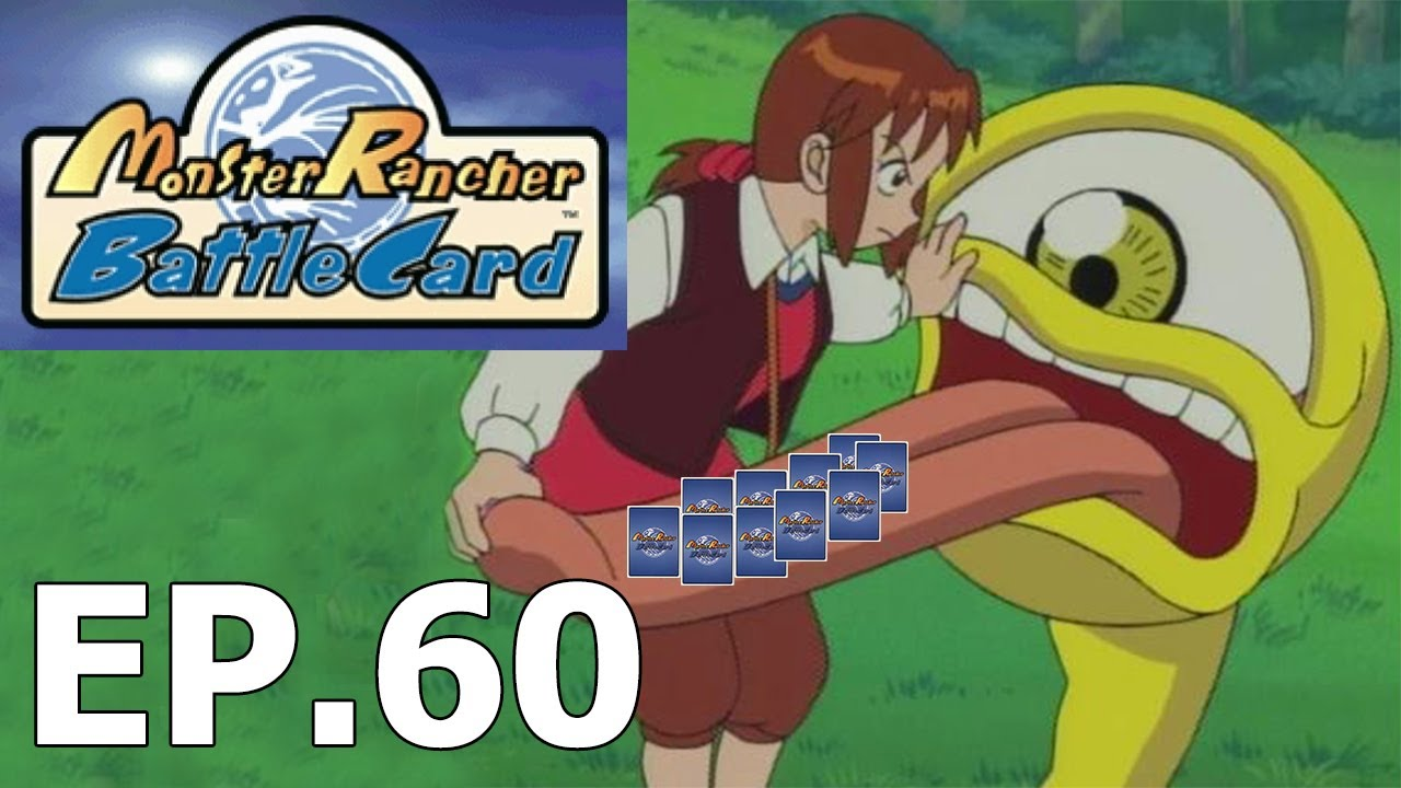 Monster Rancher Battle Card Psx Game Ep 60 Phoenix Deck In